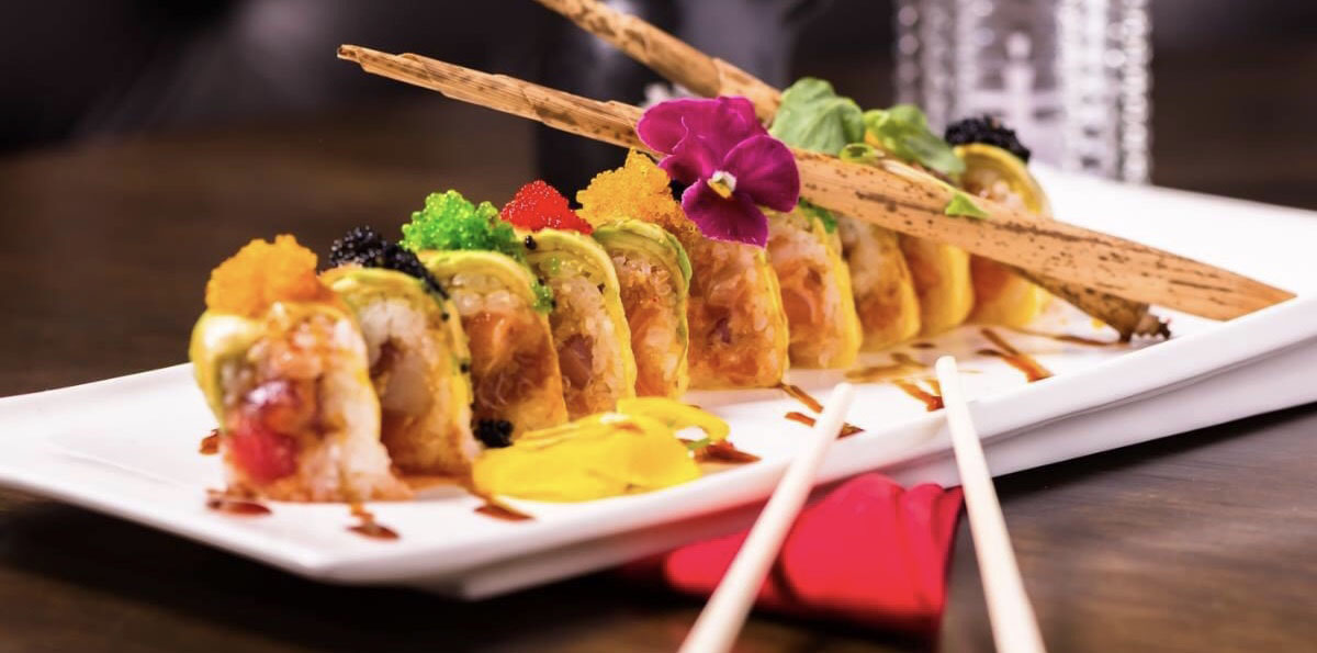 Try some of the best and most creative sushi in Boca Raton